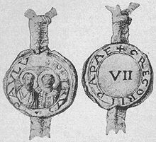https://upload.wikimedia.org/wikipedia/commons/thumb/3/3e/Seal_of_Pope_Gregory_VII.jpg/220px-Seal_of_Pope_Gregory_VII.jpg
