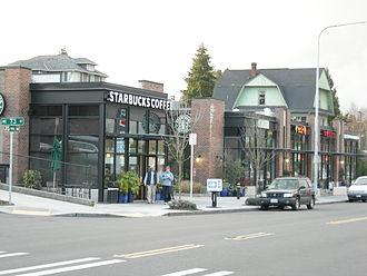 Wedgwood, Seattle - 7300 block of 35th Ave NE