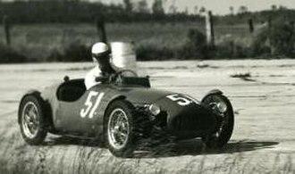 Bandini 750 sport siluro - C. Hassan in his Bandini-Crosley at Sebring.
