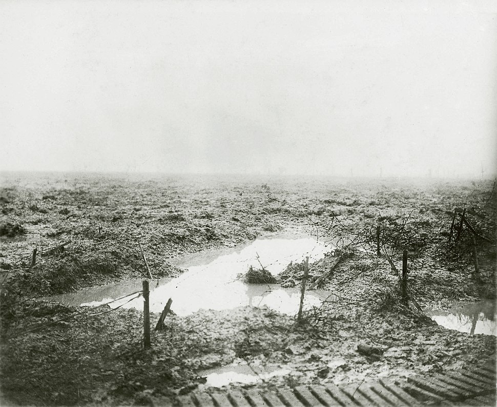 Second Battle of Passchendaele - Barbed wire and Mud