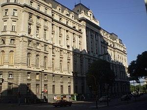 San Nicolás, Buenos Aires - Former Central Post Office on Leandro Alem Avenue.