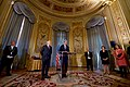 Secretary Kerry Delivers his Thanks After French Foreign Minister Jean-Marc Ayrault Awarded him the Grand Office of the Légion d'honneur (31407216802).jpg