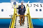 Secretary Kerry Deplanes With Danish Foreign Minister Kristian Jensen After the Two Arrived at Kangerlussuaq International Airport (27680767371).jpg