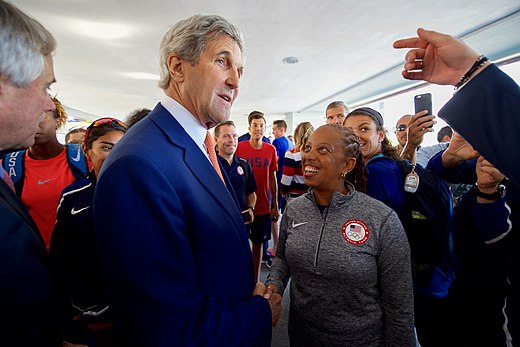 Secretary Kerry greets members of Team USA in Rio de Janeiro (28787759205).jpg