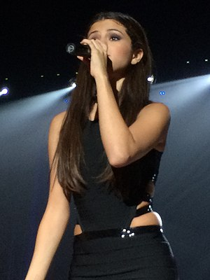 Selena Gomez - Gomez performing during the Stars Dance Tour (2013)