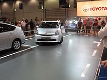 Demonstration Of The Parallel Parking System On A Toyota Prius