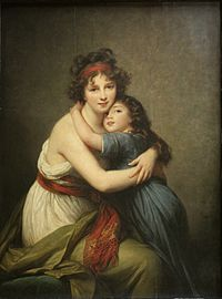 Self-portrait with Her Daughter by Elisabeth-Louise Vigée Le Brun.jpg