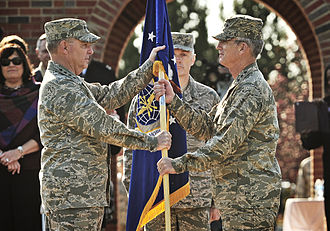 Paul J. Selva - General Selva assuming command of Air Mobility Command