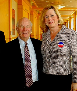Dana Beyer - Senator Ben Cardin and Gender Rights Maryland executive director Dana Beyer at a March 2012 event in Rockville, Maryland