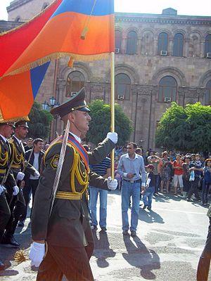 September 21, 2011 parade, Yerevan
