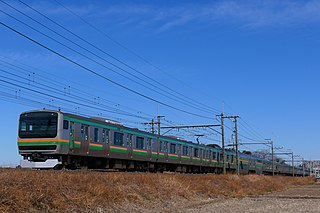 Utsunomiya Line Railway line in Japan
