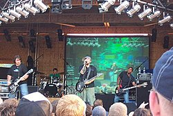 Seventh Day Slumber in performance at the Pro-Life Music Festival 2006 (Winona Lake, Indiana).jpg