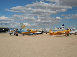 Several aircrafts at Pima Air & Space Museum 2.JPG