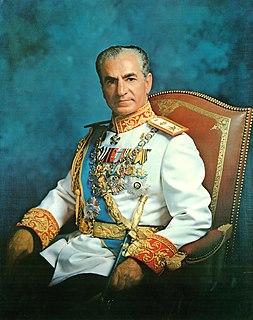 Mohammad Reza Pahlavi Shah of Iran from 1941 to 1979