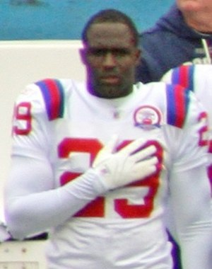 Shawn Springs - Springs in 2009 with the New England Patriots