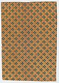 Sheet with overall geometric pattern with striped circles and squares Met DP886627.jpg