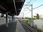 Shin-Keisei Shin-Kamagaya Station track No.2 201807 04.jpg