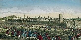 Siege of Maastricht (1748) - Image: Siege of Maastricht (1748)