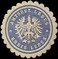 Siegelmarke Amtsbezirk Lebus - Kreis Lebus W0260122.jpg