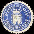 Siegelmarke Bürgermeisteramt Theresienstadt W0301032.jpg