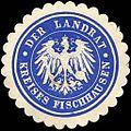 Siegelmarke Der Landrat - Kreises Fischhausen W0216159.jpg