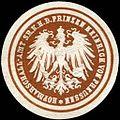 Siegelmarke Hofmarschall - Amt Seiner Königlichen Hoheit des Prinzen Heinrich von Preussen W0221910.jpg