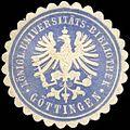 Siegelmarke Königliche Universitäts - Bibliothek - Göttingen W0219961.jpg