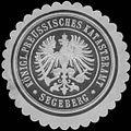 Siegelmarke K.Pr. Katasteramt Segeberg W0343887.jpg