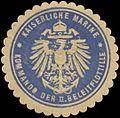 Siegelmarke K. Marine Kommando der II. Geleitflottille W0337678.jpg