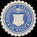 Siegelmarke Magistrat Landsberg Bezirk Halle W0349328.jpg