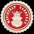 Siegelmarke Magistrat Sarstedt W0232639.jpg