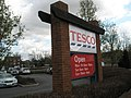 Sign outside Petersfield Tesco's - geograph.org.uk - 756132.jpg