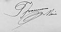 Signature Pierre Joannon maire d'Izieux, 1926.jpg