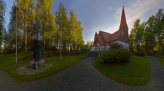 Siilinjärvi - Siilinjärvi church