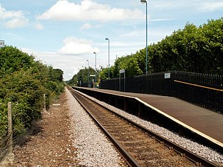 Silkstone Common railway station Railway station in South Yorkshire, England