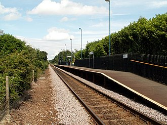 Silkstone Common railway station - Image: Silkstone Railway Station