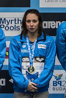 Silvia Di Pietro Italian swimmer
