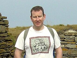 Simon Corcoran - Simon Corcoran in 2003, Knap of Howar