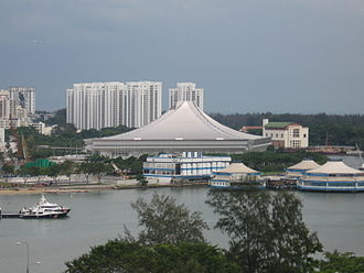 2011 World Netball Championships - Image: Singapore Indoor Stadium, Dec 05