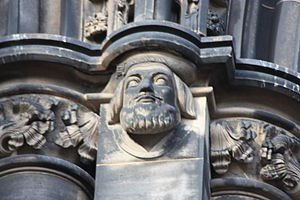 David Lyndsay - Lyndsay as depicted on the Scott Monument
