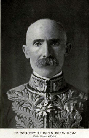 John Jordan (diplomat) - Image: Sir John Newell Jordan