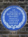 Sir Julius Benedict (1804-1885) musical composer lived and died here.jpg