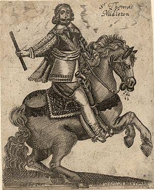 Thomas Myddelton (younger) - Sir Thomas Middleton