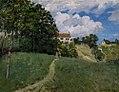 Sisley, Paysage avec maisons ( Musée d'art moderne et contemporain de Strasbourg ).JPG
