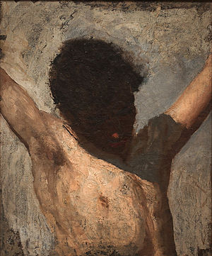 J. Laurie Wallace - Image: Sketch for the Crucifixion