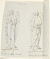 "Sketches of Two Statues- ""Angel of War"" and ""Angel of Peace"" MET DP804243.jpg"