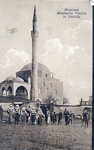 Mustafa Pasha Mosque - Historical image of Mustapha Pasha Mosque