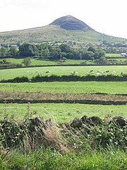 Slemish, County Antrim, where Patrick is said to have worked as a herdsman while a slave.