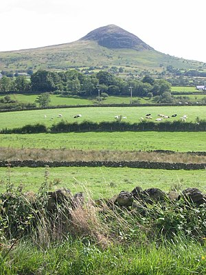 Slemish, mountain in County Antrim where St Pa...