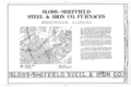 Sloss-Sheffield Steel and Iron, First Avenue North Viaduct at Thirty-second Street, Birmingham, Jefferson County, AL HAER ALA,37-BIRM,4- (sheet 1 of 20).png